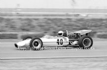 Lotus 49 Pete Lovely F1 Questor GP California 1971